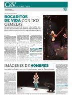 El amor y el trabajo en Festival Escena Abierta. Diario de Burgos, enero, 2012.